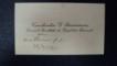 Carte de vizita, Constantin G. Raincescu, Decanul Facultatii de Drept din Bucuresti