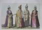 Costumele Imperiului Otoman de Giulio Ferrario - Milano, 1823 . 70 de gravuri colorate manual.