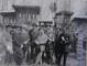 DIMITRIE GUSTI IMPREUNA CU MEMBRI AI SCOLII ROMANESTI DE SOCIOLOGIE - GOICEA MARE , JUDETUL DOLJ 1925 - FOTOGRAFIE ORIGINALA