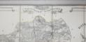 Harta Judetului Neamt de Dimitrie Papazoglu, 1865