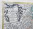 Johann Baptist Homann, Archiducatus Austriae Superioris in suas Quadrantes Ditiones exacte divisi accuratißima Tabula - Harta cca. 1715