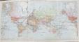 KOZENNS GEOGRAPHISCHER ATLAS von F. HEIDERICH und W. SCHMIDT - WIEN, 1910