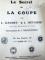 LE SECRET DE LA COUPE-L.GAUDET