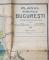 PLANUL MUNICIPIULUI BUCURESTI INTOCMIT DUPA DATE OFICIALE SI INDICATORUL STRAZILOR  de ULISSE SIMBOTEANU si M.D MOLDOVEANU , scara 1 / 15.000 , 1947