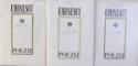 POEZII de MIHAI EMINESCU , EDITIE CRITICA de D. MURARASU , VOL. I - III , 1970 - 1972