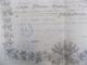 Regatul Romaniei, Ministerul de Resbel, Brevet 1884 semnat I. C. Bratianu