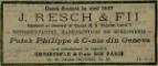 Serviciu 6 persoane manufactura Josef Resch si Fii, Casa Resch furnizor al Casei Regale a Romaniei
