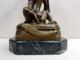 Sfantu Gheorghe, Bronz semnat Emile Louis Picault (1833-1915)