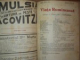 VIATA ROMANEASCA , REVISTA LITERARA SI STIINTIFICA, VOL.  VIII - IX  , ANUL  III , NR. 1 - 6 , 1908 , IASI