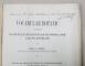 VOCABULAR BOTANIC CUPRINDEND NUMIRILE SCIINTIFICE SI POPULARE ALE PLANTELOR de ZACH. C. PANTU , 1902 , DEDICATIE *