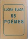 65 POEMES par LUCIAN BLAGA , 1995