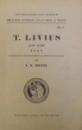 AB URBE CONDITA LIBRI XXI ET XXII de TITI LIVII , 1926