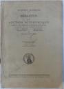 ACADEMIE ROUMAINE  - BULLETIN DE LA SECTION SCIENTIFIQUE , TOME XXV - EME , 1942 -1943 publie par ST. C. HEPITES . GR. ANTIPA et TRAJAN SAVULESCO , 1943
