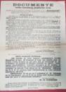 AFIS ELECTORAL - DOCUMENTE PENTRU INDRUMAREA ALEGATORILOR EVREI , WILHELM FILDERMAN , 1922