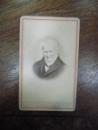 Alexander von Humboldt, fotografie originala pe carton tip CDV