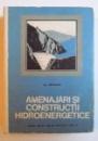 AMENAJARI SI CONSTRUCTII HIDROENERGETICE - MANUAL PENTRU LICEE DE SPECIALITATE ANUL IV de M. SIPICEANU  , 1969
