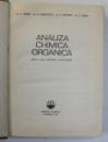 ANALIZA CHIMICA ORGANICA de F. ALBERT, C. GREFF, 1970