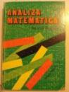 ANALIZA MATEMATICA de MARCEL ROSCULET , 1996