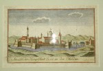 Ansicht der hauptstadt Yassy in der Moldau, Vedere din Iasi capitala Moldovei