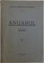 ANUARUL 1934  - ASOCIATIA PENTRU STIINTA ASIGURARILOR , 1935