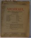 APOSTOLUL ,  REVISTA ARHIEPISCOPIEI ORTODOXE A BUCURESTILOR , ANUL XVII , NR. 11 , NOIEMBRIE 1940