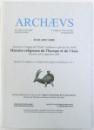ARCHAEVS   - ETUDES D ' HISTOIRE DES RELIGIONS , TOME XI - XII   (2007 -2008 )  , EDITIE BILINGVA FRANCEZA  - ENGLEZA , 2006