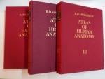 ATLAS OF HUMAN ANATOMY IN THREE VOLUMES by R.D. SINELNIKOV , MOSCOW , 1988