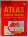 ATLAS RUTIER SI TURISTIC scara 1: 400.000 ROMANIA 2009 - 2010