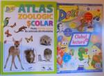 ATLAS ZOOLOGIC SCOLAR - PESTE 200 DE SPECII DE ANIMALE DIN ROMANIA , 2017