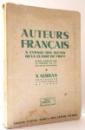 AUTEURS FRANCAIS A L'USAGE DES ELEVES DE LA CLASSE DE VIII-EME par N. SERBAN