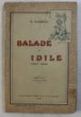 BALADE SI IDILE ( 1883 - 1890 )  de GEORGE COSBUC , EDITIA  VII  , 1916