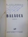 Balanuca, cu dedicatia autorului