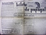 BILETE DE PAPAGAL-TUDOR ARGHEZI, NR. 41 , 1945