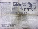 BILETE DE PAPAGAL-TUDOR ARGHEZI, NR. 42 , 1945