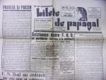 BILETE DE PAPAGAL-TUDOR ARGHEZI, NR. 43 , 1945
