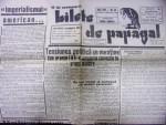 BILETE DE PAPAGAL-TUDOR ARGHEZI, NR. 45 , 1945