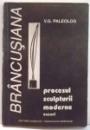 BRANCUSIANA , PROCESUL SCULPTURII MODERNE , ESEURI de V.G. PALEOLOG , 1995