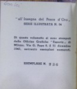 BREVE CATALOGO SURREALISTA de MARCO VALSECCHI (1945)