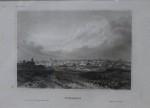 Bucuresti 1895, litografie