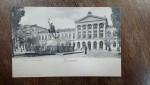 Bucuresti, Palatul Universitatii, carte postala clasica