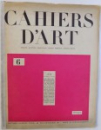 CAHIERS D ART  , DEUXIEME ANNEE , No . 6 , 1927
