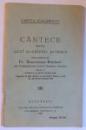 CANTECE PENTRU UZUL SCOALELOR PRIMARE prelucrate de BONAVENTURA BRUCKNER , 1931