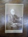 Charles Lyell, fotografie originala tip CDV