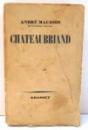 CHATEAUBRIAND par ANDRE MAUROIS , 1938