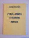 CHIMIA FIZICA A SOLIDELOR , APLICATII de ANTOANETA FOLEA 2001