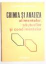 CHIMIA SI ANALIZA ALIMENTELOR BAUTURILOR SI CONDIMENTELOR , 1977