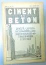 CIMENT SI BETON , REVISTA LUNARA , ANUL II , NR. 7-8 , IULIE-AUGUST 1935