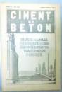 CIMENT SI BETON , REVISTA LUNARA , ANUL III , NR. 3-4 , MARTIE-APRILIE 1935