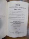 Code d'instruction criminalle explique, Paris 1863