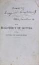 COLECTIE DE TITLURI SCRISE de J.M. RIURENU (1868-1870) / SCIINTA ELEMENTARA de ION C. LERESCU (1868)